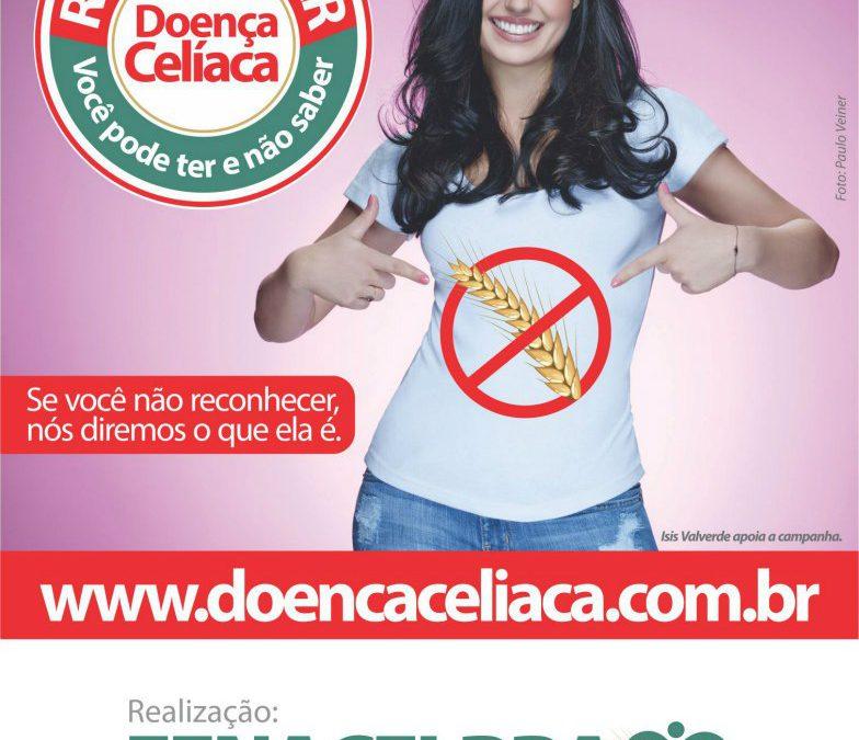 Ísis Valverde estrela campanha sobre doença celíaca